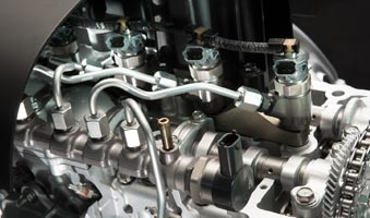 Fuel Injection System Cut-away